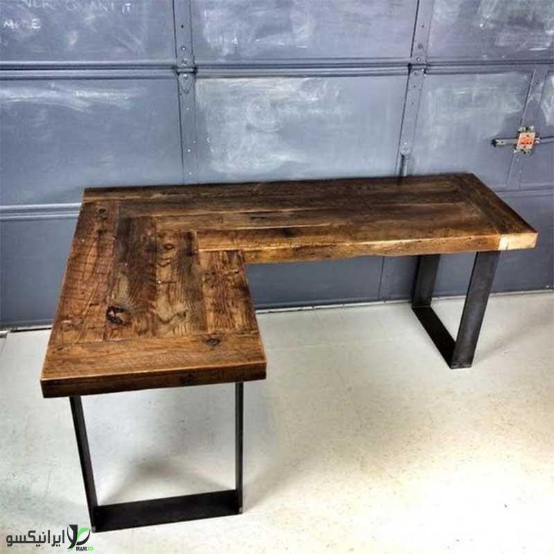 میز چوب و  فلز مدل تالکو