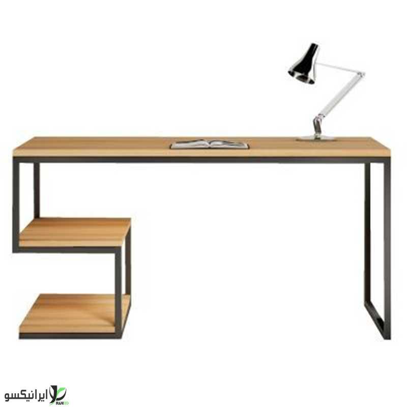 میز تحریر چوب و فلز مدل ویوا پلاس