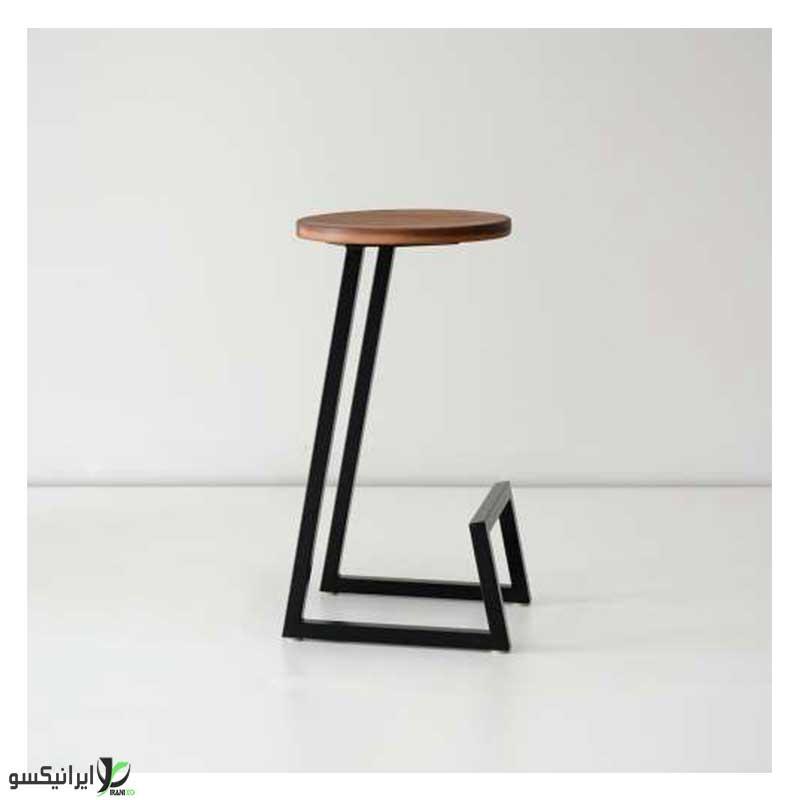 صندلی چوب و فلز مدل دینارو