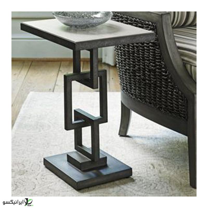 میز عسلی چوبی مدل S