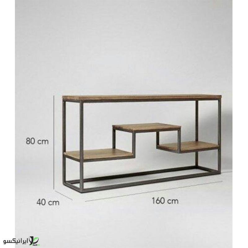 تی وی ست چوب و فلز مدل گریس