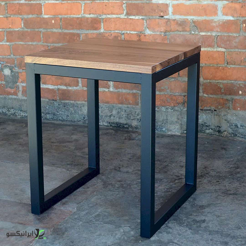 صندلی چوب و فلز مدل lazaro