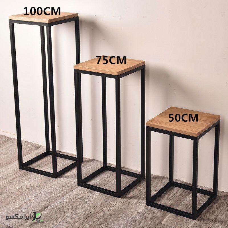 صندلی چوب و فلز مدل ana
